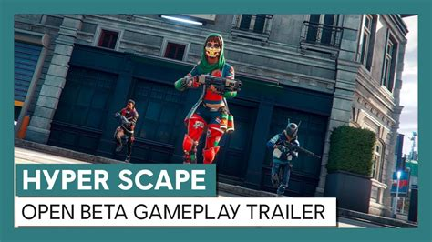 Hyper Scape: Cinematic and Open Beta Gameplay Trailer ...