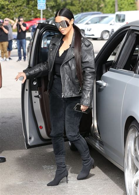 kim kardashian leather jacket kim kardashian clothes