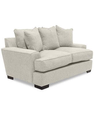Macy S Loveseat furniture ainsley 75 quot fabric loveseat created for macy s