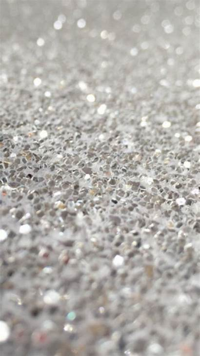 Glitter Silver Iphone Gray Sparkle Wallpapers Wall