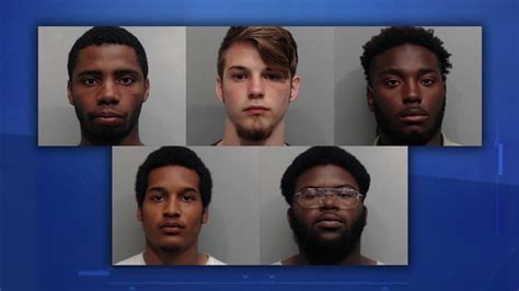 Five Gary Job Corps Students Accused Of Robbing Pizza
