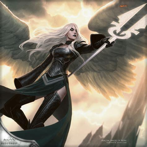 wallpaper   week avacyn angel  hope magic