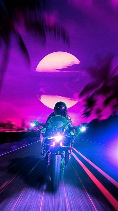 Iphone Retro Rider Iphones November Wallpapers Bikes