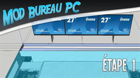bureau informatique gamer projet mod bureau pc é 1