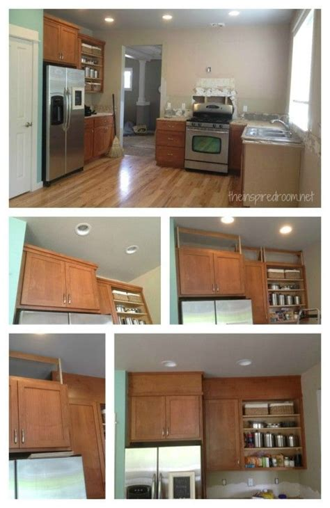 space above kitchen cabinets ideas filling in that space above the kitchen cabinets 8184