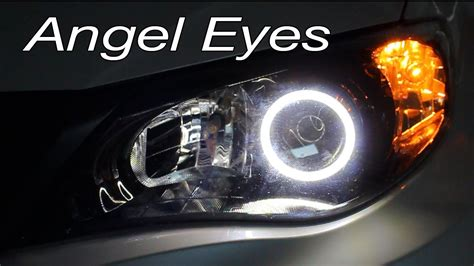 installing angel eyes lightwerkz  subaru wrx sti
