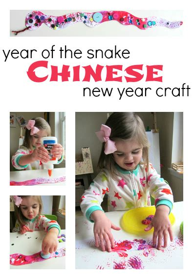 Chinese New Year Snake Craft for Kids