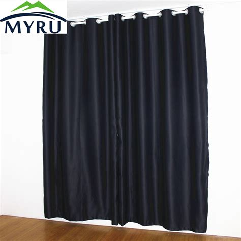 myru new black curtains shade thermal insulated