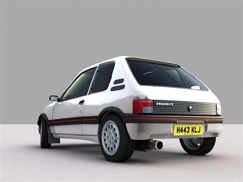 Peugeot 105. Best photos and information of model.