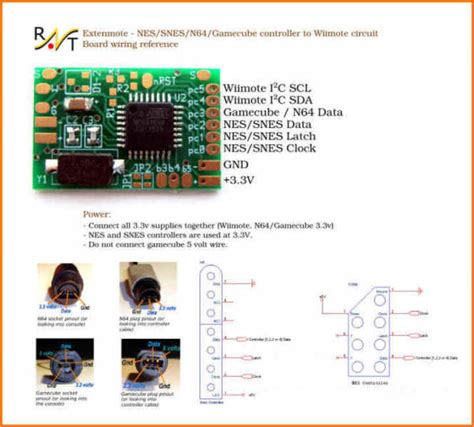 N64 Controller Wiring Diagram by Raphnet Technologies Nes Snes N64 Gamecube Controller To