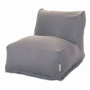 Patio chairs lounge furniture bean bags majestic for Bean bag and lounge chairs