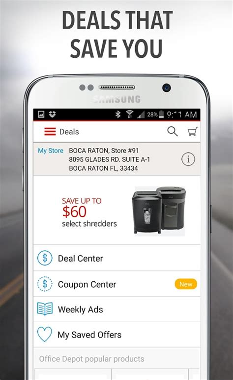 Office Depot App by Office Depot 174 Rewards Deals Android Apps On Play