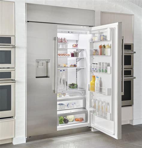 monogram zissdnss   built  side  side smart refrigerator   cu ft capacity