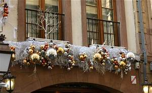 decoration noel sur balcon exemples d39amenagements With decoration de noel exterieur pour professionnel