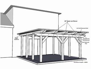 Pergola Design - Span Question  Picture Attached  - Construction