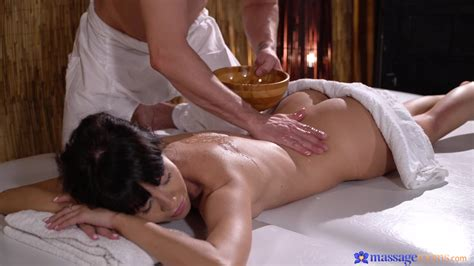 massage leads sensual woman to really crave for cock in