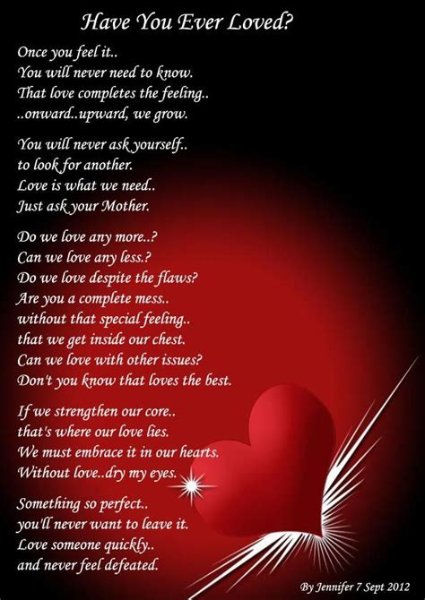 romantic poems  true love love poems