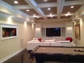 How To Decorate Long Narrow Living Room by Architect Boye Modern Basement Atlanta By Boye
