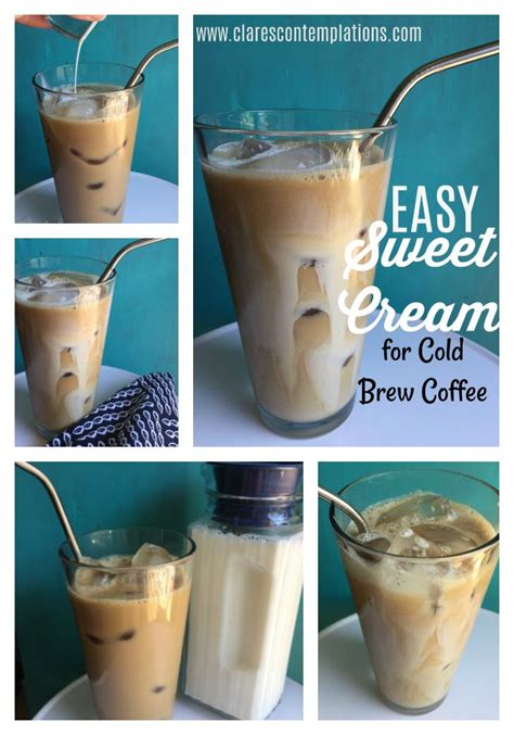 If you search my feed, you'll find #jesusisacoffeelover. Easy Sweet Cream for Cold Brew Coffee-this is a quick and ...