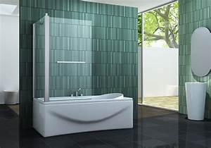Duschtrennwand Badewanne Glas : eck duschtrennwand intrexo 70 badewanne ~ Michelbontemps.com Haus und Dekorationen