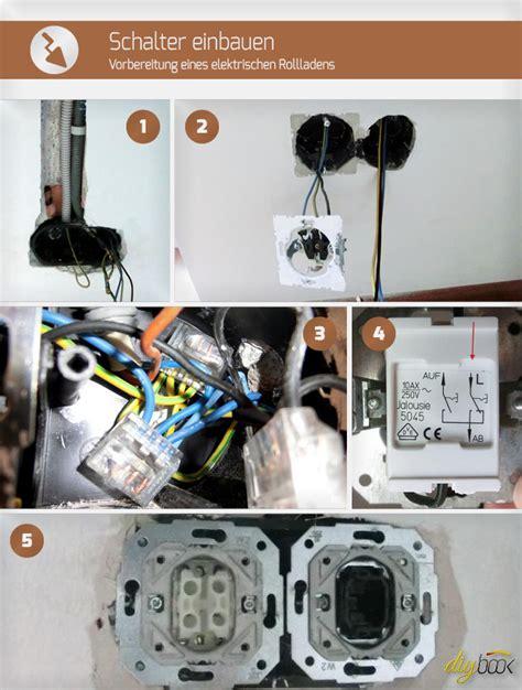 schalter einbauen vorbereitung eines elektrischen