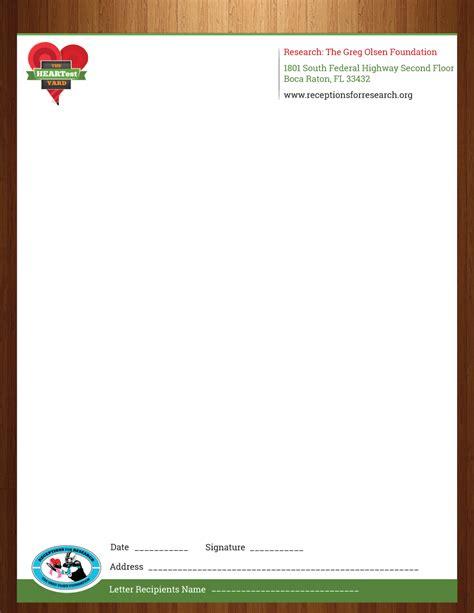 profit letterhead design   company  harmi