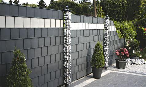 Garten Sichtschutz Kunststoff Metall by Waliczek Contzen Gmbh Sichtschutzzaun Discreto Metall