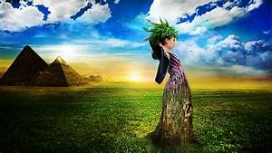 Wallpaper - Photo Edit - Nature Girl by HIGHLIFEHIGH on ...