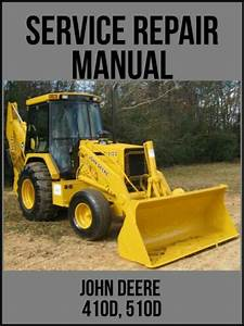 Vintage John Deere 410 Backhoe Loader Parts Catalog Pc