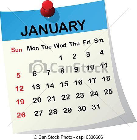 clipart calendario january calendar clipart 101 clip