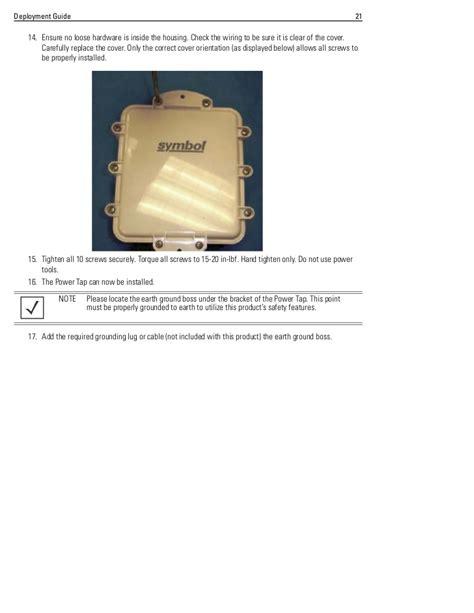 motorola solutions ap 5181 access point deployment guide part no 72