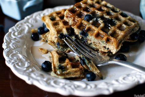 blueberry waffle blueberry sour cream waffles pass the sushi