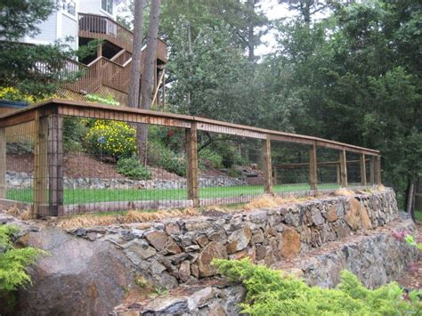 fences for yards backyard fence ideas backyard fence surrounded by forest