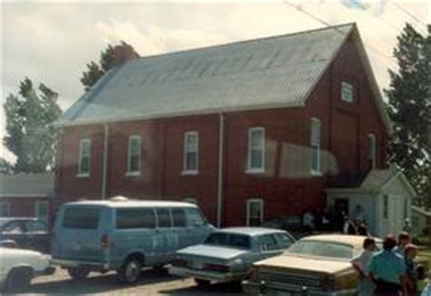 Mennonite Sheds Aylmer Ontario by Aylmer Vicinity Ontario Mennonite Archival Image Database