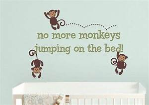 26 best wall decals images on pinterest child room With best 20 no more monkeys jumping on the bed wall decal