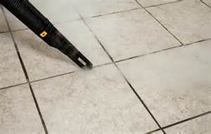 steam cleaning grout and tiles quickly and easily with dupray