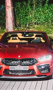 Live photos of the BMW M8 Convertible