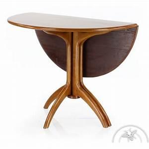 Table à Manger Pliante : table de salle manger pliante ronde bois lund saulaie ~ Teatrodelosmanantiales.com Idées de Décoration