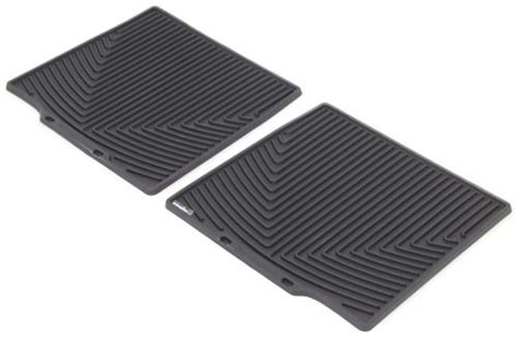 2017 Ford Explorer Weathertech All-weather 2nd Row Rear