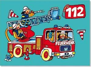Feuerwehrgl, U00fcckwunschkarten, Feuerwehrgrusskarten