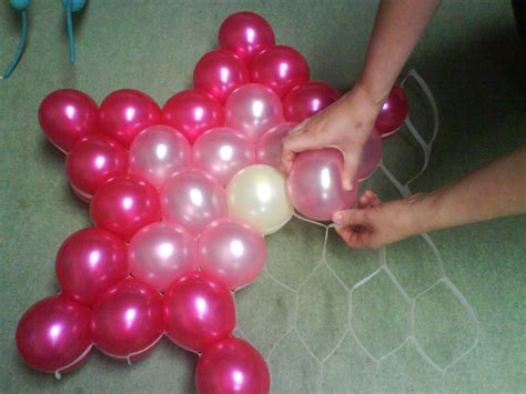 Decorating Ideas With Balloons by Balloon Decoration Dise 241 O De Interiores En Casa