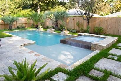 Pool Swimming Houston Custom Pools Tx Backyard