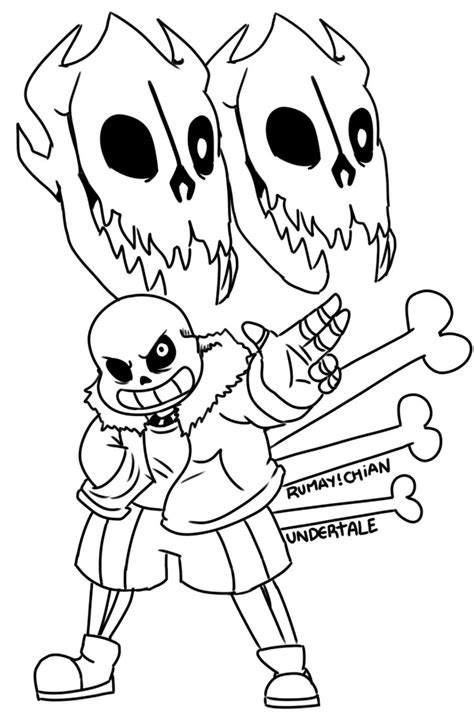 undertale frisk coloring pages sketch coloring page