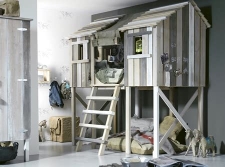 Tree House Bunk Beds For Sale - home dzine bedrooms indoor treehouse beds