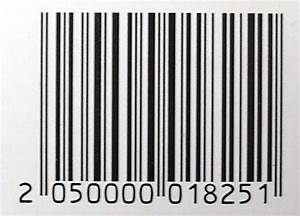 Price Tag Barcode