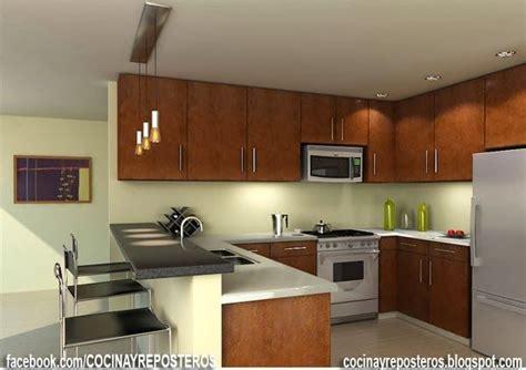 cocinas  barra habitaciones cocina barras de