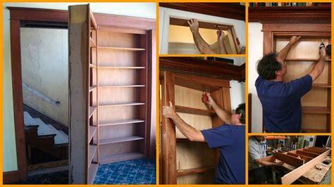 building a secret door 40 easy diy bookshelf plans guide patterns