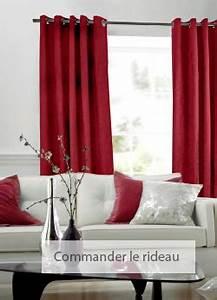 Ou Acheter Des Rideaux : quels stores et rideaux dans une couleur rouge ~ Teatrodelosmanantiales.com Idées de Décoration