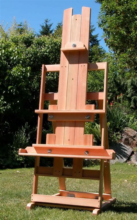 easel tv stand plans woodworking projects plans