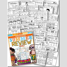 A Stable Beginning Kindergarten Summer Review Packet  A Review & Giveaway